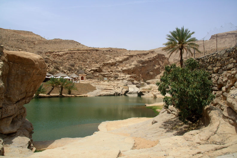 Wegdromen in Oman