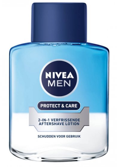 NIVEA MEN 2-in-1 Protect & Care Aftershave Lotion