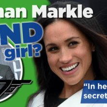 'Meghan Markle was bijna Bond Girl'