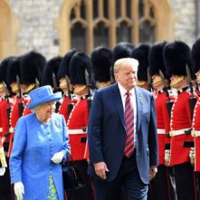 Britten vallen over leugen Trump over Queen