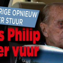 Ophef over ongeluk Prins Philip