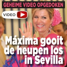 Video: Máxima gooit heupen los in Sevilla