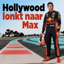 Max Verstappen naar Hollywood