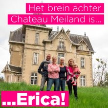 Vrouw Erica is het brein achter Chateau Meiland