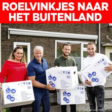 Internationale carrière voor Roelvinkjes