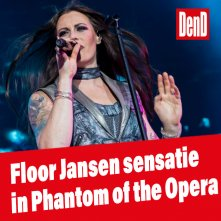 Floor Jansen ultieme sensatie in The Phantom of the Opera