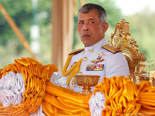Thaise koning in Duits hotel