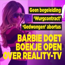 Barbie doet heftig boekje open over reality-tv