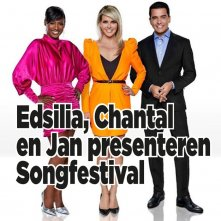BREAKING! Jan Smit, Edsilia Rombley en Chantal Janzen presenteren Songfestival