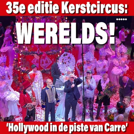 35e Wereldkerstcircus: Hollywood in de piste van Carré