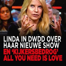 Linda in DWDD over haar nieuwe show en 'kijkersbedrog' All You Need Is Love