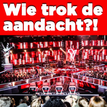 Wie trok de aandacht bij The Voice Of Holland?