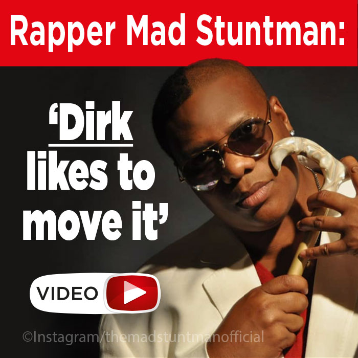 Rapper Mad Stuntman