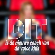 Wie is de nieuwe coach bij The Voice Kids?