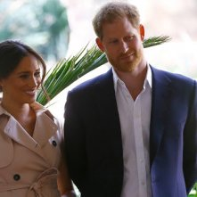Harry vergezelde Meghan in de studio tijdens voice-overklus