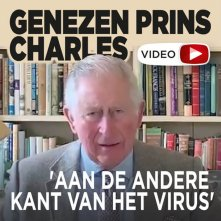 Genezen Charles spreekt Britten toe in video