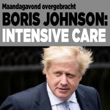 Boris Johnson op de IC