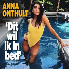 Pikant! Dit wil Anna Nooshin in bed