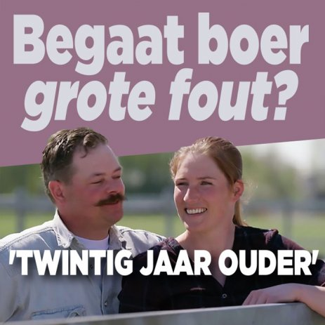 Begaat boer Marnix grote fout?
