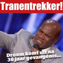 Tranentrekker bij America's Got Talent