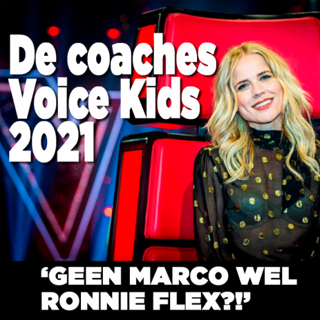 Nieuwe coaches The voice kids bekend