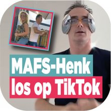 MAFS-Henk is hit op TikTok