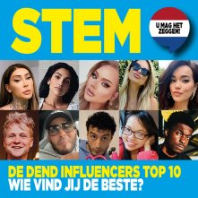 Stem! Wie is jouw favoriete influencer