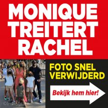 Monique treitert Rachel met 'valse' foto