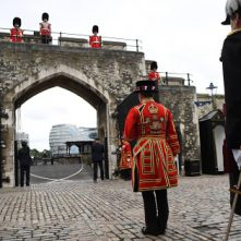 Tower of London weer open, poorten ceremonieel geopend