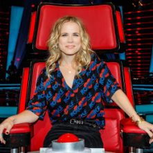 Ilse DeLange zit coachrol in The Voice of Germany wel zitten