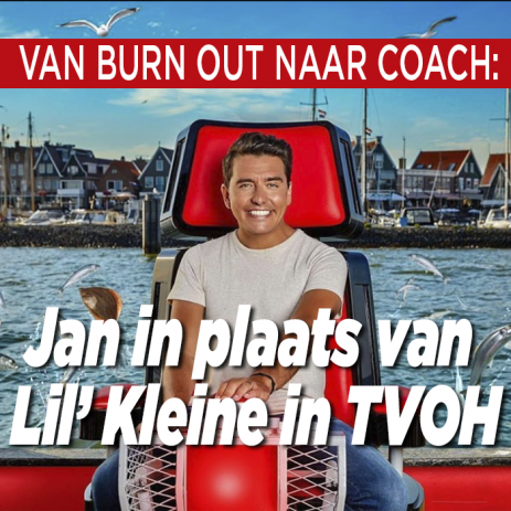 Jan Smit vervangt Lil' Kleine in The Voice