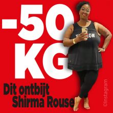Dit ontbijt Shirma Rouse