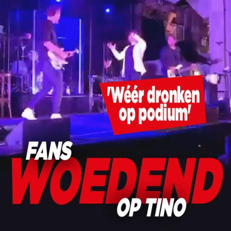Fans woedend op Tino Martin