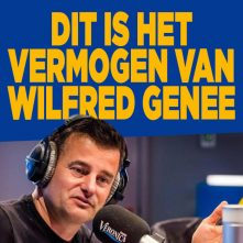 Zo rijk is Wilfred Genee