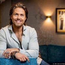 André Hazes traint voor cover Men's Health