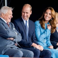 Cambridges ontvangen David Attenborough voor filmscreening