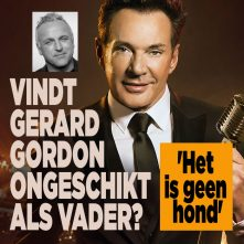 Gerard over Gordon's kinderwens: 'Het is geen chihuahua'