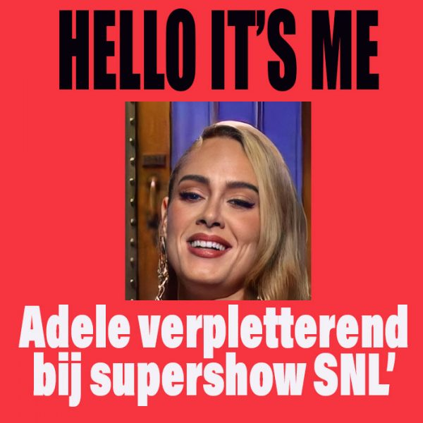 Adele in SNL