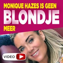 Monique Hazes zegt blonde lokken vaarwel