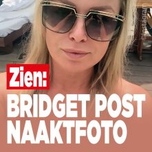 Bridget Maasland post naaktfoto
