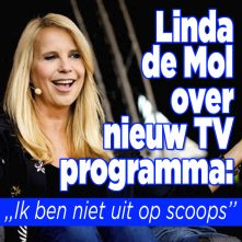 Linda de Mol is niet uit op 'scoops' in interviewprogramma