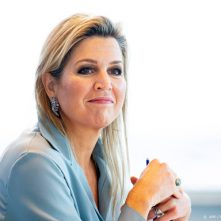 Máxima in gesprek over inclusieve financiering