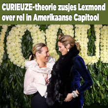 CURIEUZE-theorie zusjes Lexmond over rel Amerikaanse Capitool