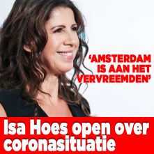 Isa Hoes over coronasituatie