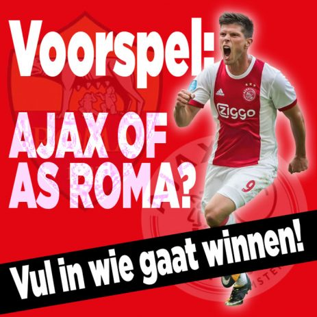 Wint Ajax? Ja of Nee?