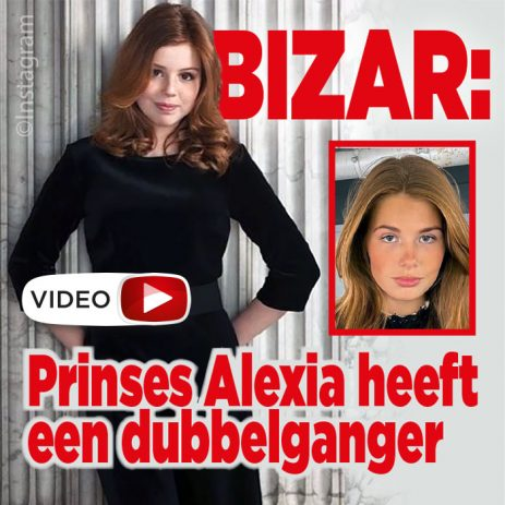 VIDEO: Prinses Alexia heeft een dubbelganger