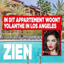 Wow: in dit appartement woont Yolanthe in Los Angeles